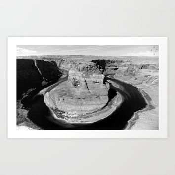 Horseshoe Bend Art Print by Derek Delacroix
