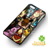 Pokemon Eevee Collage-1y for iPhone 4/4S/5/5S/5C/6/ 6+,samsung S3/S4/S5,S6 Regular,S6 edge,samsung note 3/4