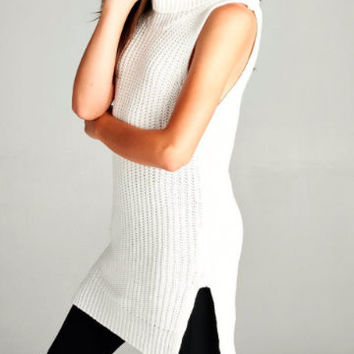 Snow Kissed Sweater Tunic