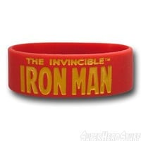 Iron Man Rubber Wristband