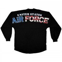 United States Air Force -Old Glory Print - Armed Forces Spirit Jersey®