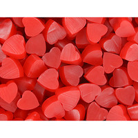 Twizzlers Heart Shaped Strawberry Nibs Candy: 2LB Bag