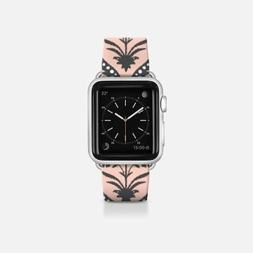 Santha trellis ikat apple watch band Apple Watch Band (38mm)  by Sharon Turner | Casetify