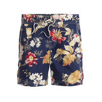 crewcuts Boys Board Short In Navy Floral