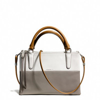 THE MINI BOROUGH BAG IN RETRO COLORBLOCK LEATHER