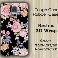 Classic Floral Pattern Samsung Galaxy S5/S4/S3/Note 3/Note 2 Case
