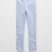 Aerie Chill Slim 3/4 Crop Legging , Ocean Mist