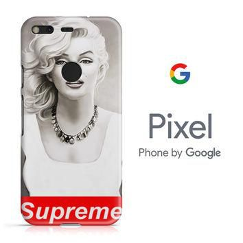 Marilyn Monroe Supreme Design Google Pixel Phone 3D Case