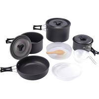 Camping Hiking Cookware 15pcs Outdoor Camping Cookware