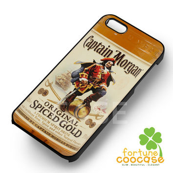 Rum Captain Morgan Spiced Gold Bottle - ziii for  iPhone 6S case, iPhone 5s case, iPhone 6 case, iPhone 4S, Samsung S6 Edge