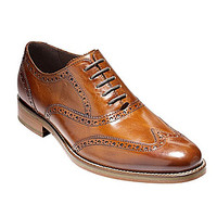 Cole Haan Men's Preston Wingtip Dress Oxfords - Dark Brown