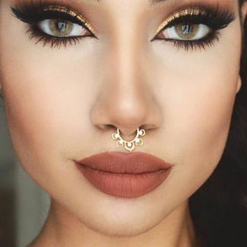 Pair of Faux Septum Ring