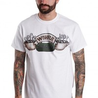 Neck Deep - Coffee White - T-Shirt