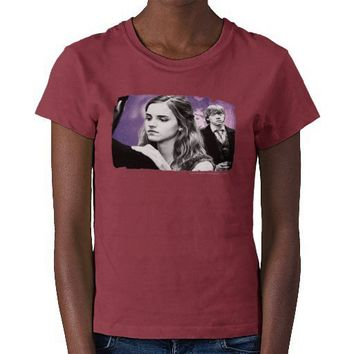 Hermione and Ron Shirts from Zazzle.com