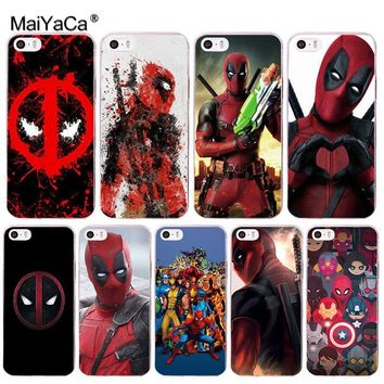 Deadpool Dead pool Taco MaiYaCa Marvel Hero  soft tpu phone case cover for Apple iPhone 8 7 6 6S Plus X 5 5S SE 5C 4 4S case funda AT_70_6