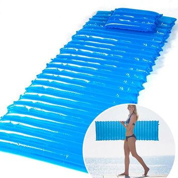 Inflatable Moisture-Proof Sleeping Pad or Air Mattress