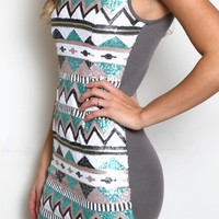 Tres Chic Tribal Dress
