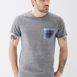 Plaid Pocket Tee
