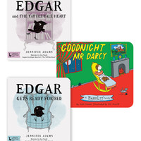BabyLit Ready for Bed, The Tattle-Tale Heart, Goodnight Mr Darcy Book Set   zulily