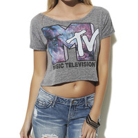 MTV Cosmic Crop Top  | Shop Tops at Wet Seal