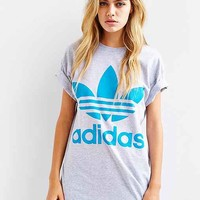 adidas Originals Mirror Logo Tee- Grey