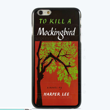 To Kill a Mockingbird, Custom Phone Case for iPhone 4/4s, 5/5s, 6/6s, 6/6s+ and iPod Touch 5, Classis Book