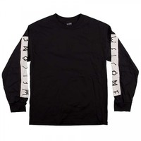Welcome Skateboards Welcome Scrawl Bar Long Sleeve T-Shirt