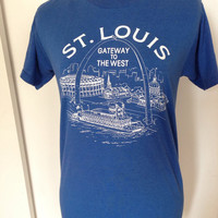 St. Louis - Gateway to the West - Vintage Screen Stars