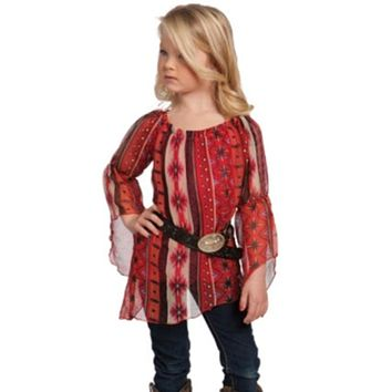 Autumn Aztec Tunic Top from RU Cowgirl