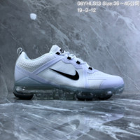 HCXX N891 Nike Air Vapormax 2019 mesh breathable Drop molding Running Shoes White