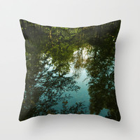 Came Back Haunted Throw Pillow by Tordis Kayma