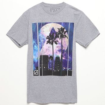 California Love Moonlight Mile T-Shirt - Mens Tee - Gray