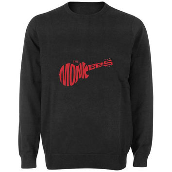 the monkees sweater Black and White Sweatshirt Crewneck Men or Women for Unisex Size with variant colour