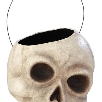 Skull Candy Bowl - Halloween Candy Bowl - Skull Decor - Halloween Skull - Scary Halloween Decorations | HomeDecorators.com