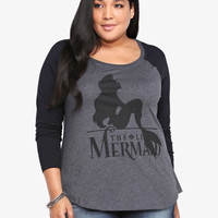Disney The Little Mermaid Raglan Tee