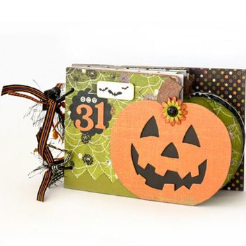 Estel METAL CUTTING DIES  Halloween Pumpkin Frame DIY Scrapbook PAPER CRAFT card album embossing stencils template punch