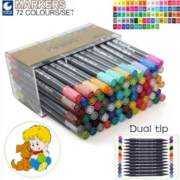 STA Colored Sketching Markers 36 48 72
