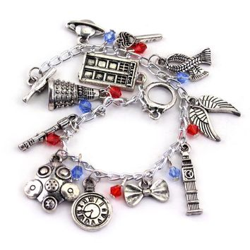 Avengers Charm Bracelet Bangle Doctor Who Horcrux Walking Dead Star Wars Supernatural Legend of Zelda Game of thrones Bracelet