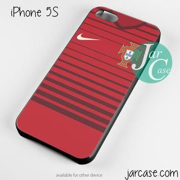 portugal soccer jersey Phone case for iPhone 4/4s/5/5c/5s/6/6 plus