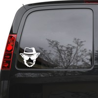 """Auto Car Sticker Decal Monkey Hat Cigarette Weed Truck Laptop Window 5.2"""" by 5"""" ig2704c"""