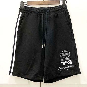 Y-3 2019 new wild casual men and women shorts Black