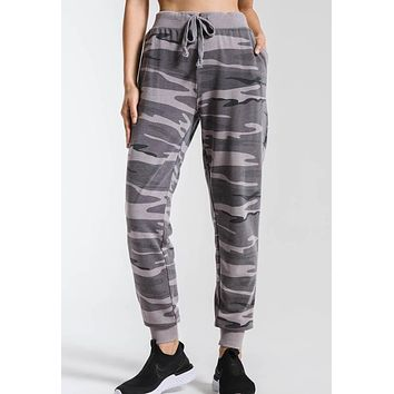 Z Supply - The Grey Multi Camo Pants