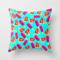Summer Fun 2 Throw Pillow by Sreetama Ray