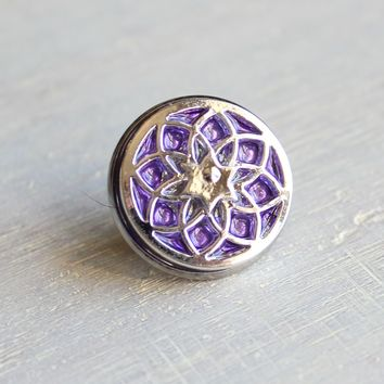 Seed of life tie tack / lapel pin - additional colors available