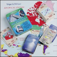 WorldWise Geography Card Game - Americas