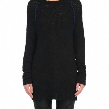 Blank NYC Open Knit Sweater - Twizzle