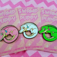 Swamp Puppy Pins