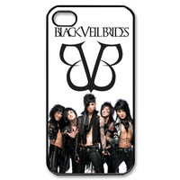 New BLACK VEIL BRIDES BVB Wretched And Devine Apple iPhone 4/4s Hard Case Cover