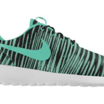 Nike Roshe Run iD Custom Girls' Shoes 3.5y-6y - Green