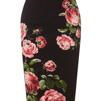 ROYAL WORCESTER PENCIL SKIRT